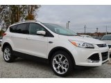 2014 White Platinum Ford Escape Titanium 1.6L EcoBoost #88192547