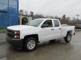 2014 Summit White Chevrolet Silverado 1500 WT Double Cab #88192465