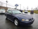 2002 True Blue Metallic Ford Mustang V6 Coupe #88192528