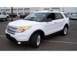 2013 White Platinum Tri-Coat Ford Explorer XLT 4WD #88192453