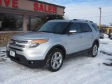 2013 Ingot Silver Metallic Ford Explorer Limited 4WD #88192799