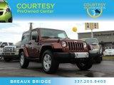 2010 Red Rock Crystal Pearl Jeep Wrangler Sahara 4x4 #88192795