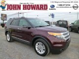 2011 Bordeaux Reserve Red Metallic Ford Explorer XLT 4WD #88192743