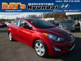 2013 Red Hyundai Elantra GLS #88192782