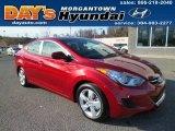 2013 Red Hyundai Elantra GLS #88192780