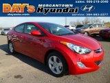 2013 Red Hyundai Elantra GLS #88192779