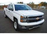 2014 Summit White Chevrolet Silverado 1500 LTZ Z71 Crew Cab 4x4 #88192726