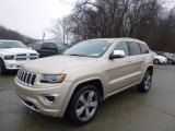 2014 Cashmere Pearl Jeep Grand Cherokee Overland 4x4 #88192651