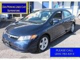 2007 Royal Blue Pearl Honda Civic EX Sedan #88192283