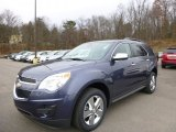 2014 Atlantis Blue Metallic Chevrolet Equinox LT AWD #88192559