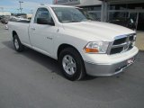 2009 Stone White Dodge Ram 1500 SLT Regular Cab #88234420