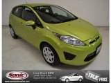 2013 Lime Squeeze Ford Fiesta SE Hatchback #88234406