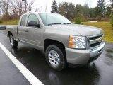 2009 Graystone Metallic Chevrolet Silverado 1500 LT Extended Cab 4x4 #88234481