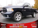 2014 True Blue Pearl Coat Ram 1500 Express Regular Cab #88234340