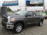2014 Magnetic Gray Metallic Toyota Tundra SR5 Double Cab 4x4 #88234175