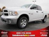 2014 Bright White Ram 1500 SLT Crew Cab 4x4 #88234337