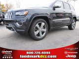 2014 Maximum Steel Metallic Jeep Grand Cherokee Overland #88250906