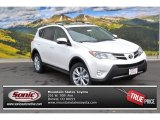 2013 Blizzard White Pearl Toyota RAV4 Limited AWD #88250858