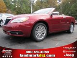 2014 Deep Cherry Red Crystal Pearl Chrysler 200 Limited Convertible #88250902