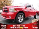 2014 Flame Red Ram 1500 Express Quad Cab 4x4 #88250913