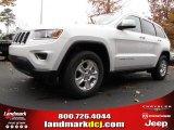 2014 Bright White Jeep Grand Cherokee Laredo #88250907