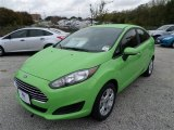 2014 Green Envy Ford Fiesta SE Sedan #88250885
