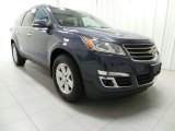2013 Atlantis Blue Metallic Chevrolet Traverse LT AWD #88250922