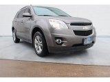 2010 Mocha Steel Metallic Chevrolet Equinox LT #88255974