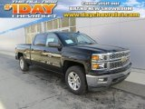 2014 Black Chevrolet Silverado 1500 LT Crew Cab 4x4 #88255637