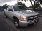 2011 Sheer Silver Metallic Chevrolet Silverado 1500 LS Extended Cab #88256022
