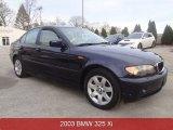 2003 Orient Blue Metallic BMW 3 Series 325xi Sedan #88255793
