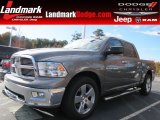 Bright Silver Metallic Dodge Ram 1500 in 2012
