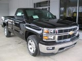 2014 Black Chevrolet Silverado 1500 LT Regular Cab #88255998