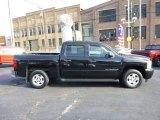 2007 Black Chevrolet Silverado 1500 LT Crew Cab #88255704