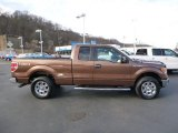 2012 Golden Bronze Metallic Ford F150 XLT SuperCab 4x4 #88255699