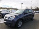 2014 Atlantis Blue Metallic Chevrolet Equinox LS #88255761