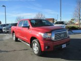 2011 Barcelona Red Metallic Toyota Tundra Limited CrewMax 4x4 #88255872