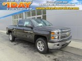 2014 Tungsten Metallic Chevrolet Silverado 1500 LT Double Cab 4x4 #88255641