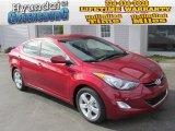 2013 Red Hyundai Elantra GLS #88255592
