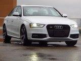 2014 Audi S4 Glacier White Metallic