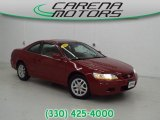 2002 Firepepper Red Pearl Honda Accord EX V6 Coupe #88284161