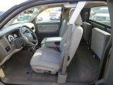 2010 Dodge Dakota Big Horn Extended Cab 4x4 Dark Khaki/Medium Khaki Interior