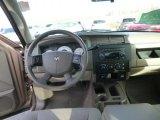 2010 Dodge Dakota Big Horn Extended Cab 4x4 Dashboard