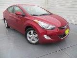 2013 Red Hyundai Elantra GLS #88283933