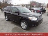 2010 Black Toyota Highlander Hybrid Limited 4WD #88283931