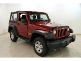 2012 Deep Cherry Red Crystal Pearl Jeep Wrangler Sport 4x4 #88284037