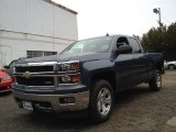 2014 Blue Granite Metallic Chevrolet Silverado 1500 LT Double Cab 4x4 #88283857