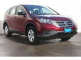 2014 Basque Red Pearl II Honda CR-V LX #88283917