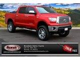 2012 Barcelona Red Metallic Toyota Tundra Limited CrewMax 4x4 #88283746