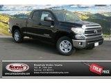 2014 Black Toyota Tundra SR5 Double Cab 4x4 #88283736